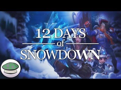 12 Days of Snowdown - The Yordles (Parody)
