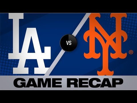 Davis' 3-run double lifts Mets past Dodgers | Dodgers-Mets Game Highlights 9/14/19