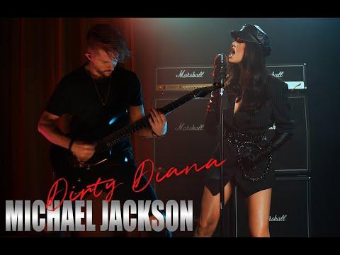 "Michael Jackson  ""Dirty Diana"" Cover by Sershen & Zarítskaya"