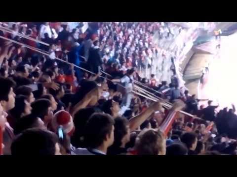 Hinchada de River vs Godoy Cruz - Copa Sudamericana 2014 - Los Borrachos del Tablón - River Plate - Argentina - América del Sur