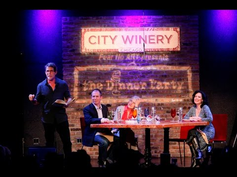 The Dinner Party: Rick Bayless, Sara Paretsky, Pat Byrnes, Carrie Nahabedian