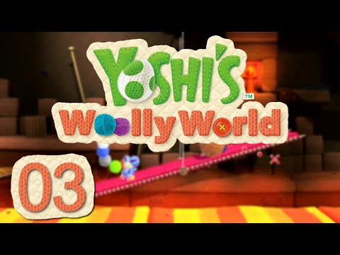 Let's Play Yoshi's Woolly World - Folge 3 - Lavaschals [Together]