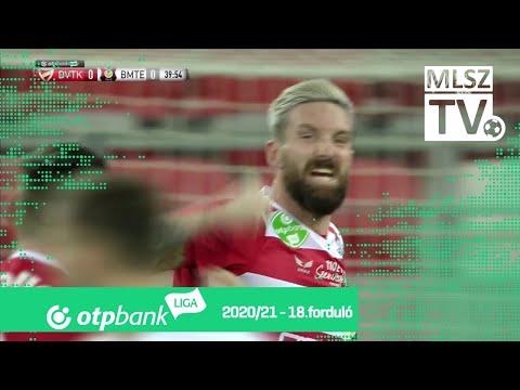 David Vaněček gólja (DVTK - BMTE, 18. forduló)