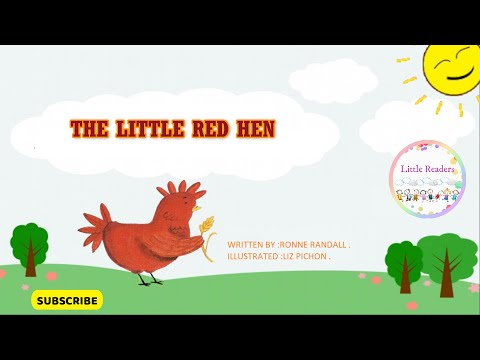 The Little Red Hen | Bedtime Story For Kids | Roving Genius