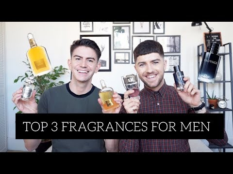 Top 3 Men's Fragrances with Mr Carrington