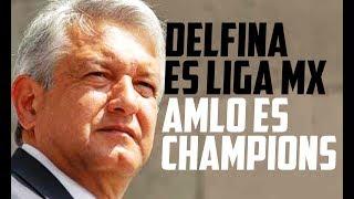 Con la molestia creciente en el Estado de México porque hay un convencimiento que le robaron a Delfina el triunfo, AMLO...