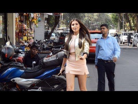Student Of The Year 2 Actress Tara Sutaria Spotted At Tea Villa Cafe Juhu