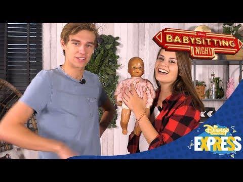 Disney Channel Express | Babysitting Night | Disney Channel BE