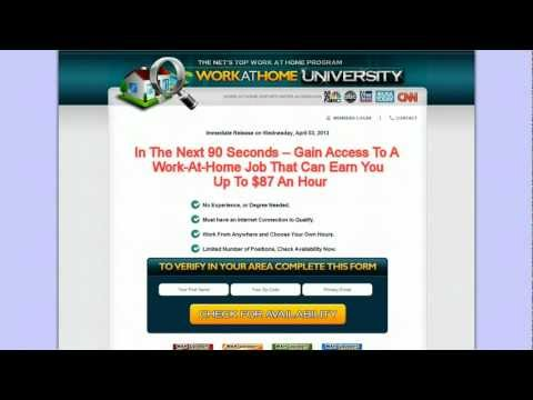 Work at home jobs and scams pt. 2