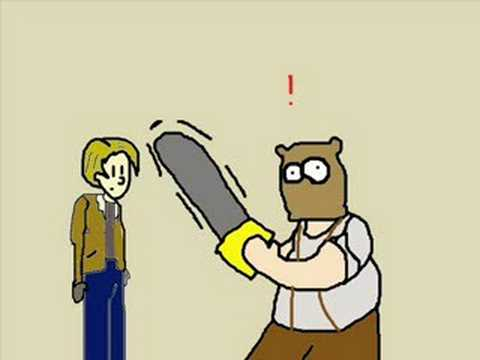 Resident Evil 4: Don't Run with Chainsaws!!!