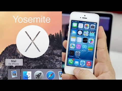 osx - Voici une présentation des grandes nouveautés d'OS X Yosemite et les possibilités d'utilisation avec iOS sur iPhone, iPod touch et iPad. Un nouveau design, la possibilité d'utiliser les...