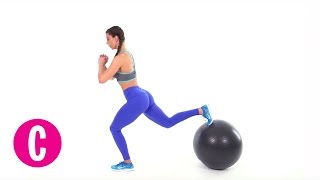 6 Exercise Ball Moves to Make Your Butt Round AF | Cosmopolitan by Cosmopolitan