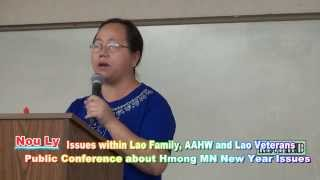 Lao Family Foundation, A Hmong MN 501-C4, brings disagreements b/t it's 3 Partners and the Hmong Com