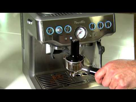 Breville BES870XL Barista Express Espresso Coffee Machine Review