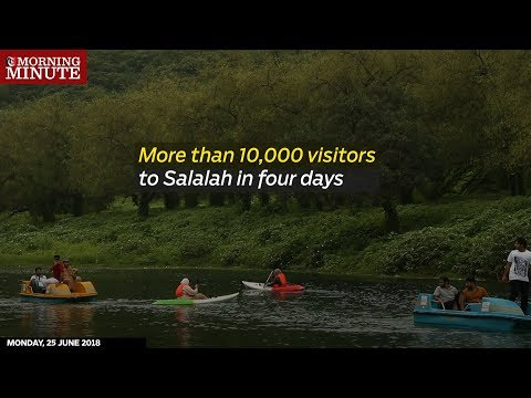 More than 10,000 visitors to Salalah in four days