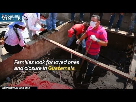 Families look for loved ones and closure in Guatemala