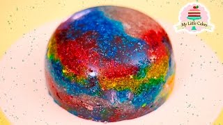 HOW TO MAKE A GALAXY JELLY | MY LITTLE CAKES