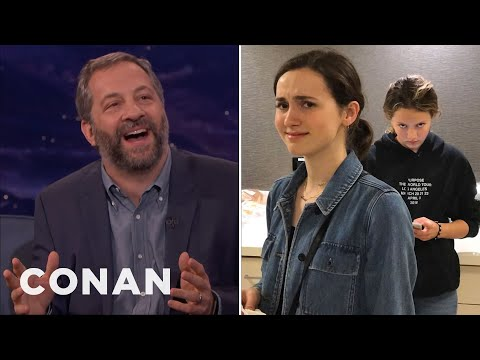 Download Judd Apatow: My Daughters Think I'm A Hollywood Dick  - CONAN on TBS HD Mp4 3GP Video and MP3