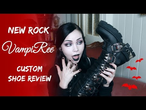 New Rock 'VampiRee' Boots || Shoe Unboxing & Review