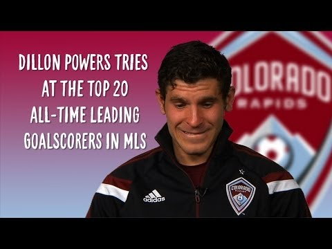 Video: Dillon Powers takes the MLS leading goalscorer quiz | MLS Trivia