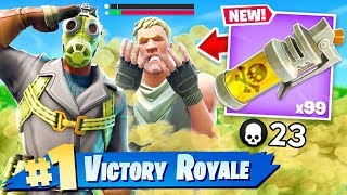 SEARCHING FOR THE FART BOMB!! Fortnite: Battle Royale