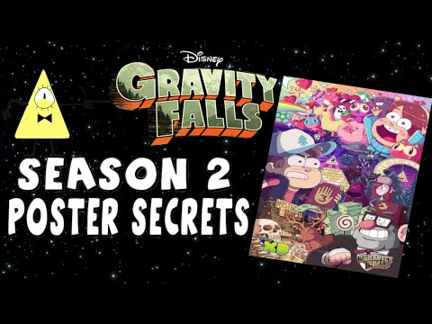 Falls - The Gravity Falls San Diego Comic Con poster has been released by Alex Hirsch, and there are some secrets and mentionable things inside of it. ○○○JOIN THE DECODERS: http://bit.ly/18ZdpzY...