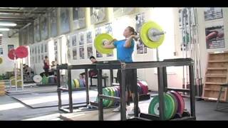 Weightlifting training footage of Catalyst weightlifters. Alyssa power jerk, Audra power snatch, Jessica power snatch. - Weight lifting, Olympic, weightlifting, strength, conditioning, fitness, exercise, crossfit - Catalyst Athletics Videos