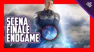 Scena Finale Endgame, Captain America Solleva il Martello di Thor e Poi   #ILLUMIGATTI