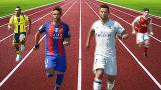 Video FIFA 17 Speed Test | Fastest Players In FIFA Without The Ball MP3, 3GP, MP4, WEBM, AVI, FLV Desember 2017