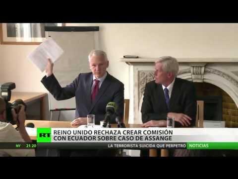 Ecuador: Londres rechaza crear una comisión conjunta para resolver el caso Assange
