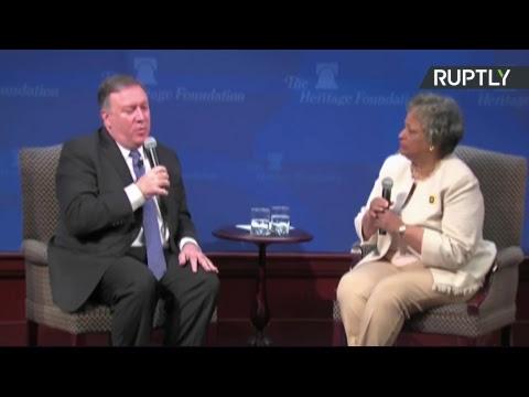 Майк Помпео представляет новую политику США в отношении Ирана - DomaVideo.Ru
