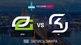 OpTic vs SK - ESL One Cologne 2017 - map3 - de_cobblestone [yXo, Enkanis]