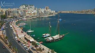 Travel Documentary, Malta, Sliema, Valletta, Fort St Elmo, Fort St Angelo, Marsamxett Harbour, Manoel Island, Ottomans, The Great Seige, Jean De Valette, ...