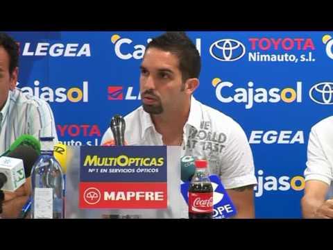 Giancarlo Maldonado y su presentación en el Xerez Español