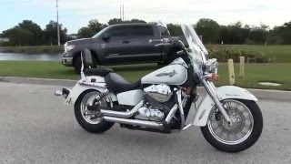 1. Used 2007 Honda Shadow Aero 650 Motorcycle for sale in Tampa Fl
