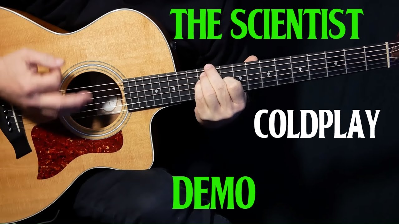 "how to play ""The Scientist"" on guitar by Coldplay 