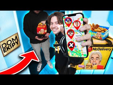 ROZWOŻĘ ZESTAWY MATY z McDonalds DO DOMÓW YOUTUBERÓW!