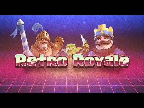 ► RETRO ROYALE CHALLENGE В Clash Royale / Клеш рояль ◄