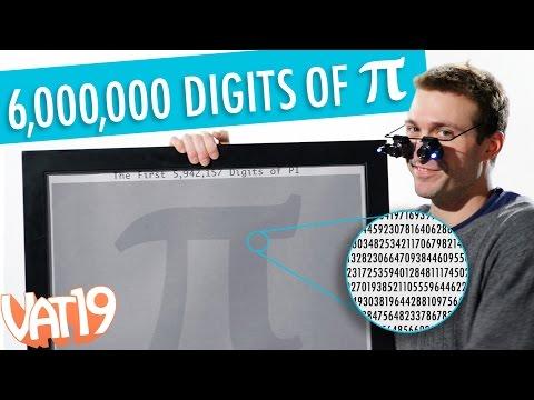 Six Million Digits of Pi