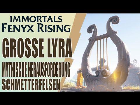 Immortals Fenyx Rising - Guide - Schmetterfelsen - Mythische Herausforderung - Große Lyra