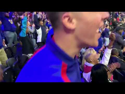 Ben Simmons makes first career 3 pointer!!!
