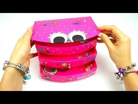 Распаковываем коробку сюрприз и делаем браслеты - DomaVideo.Ru
