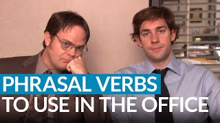 "Do you work in an office? Do you have English-speaking clients? In this Business English lesson, I'll help you succeed in your career by teaching you 10 important phrasal verbs that are commonly used in the office. Do you ""note things down"" in your meetings? Do you ""back up"" your files? Is your printer always ""running out"" of ink? Are you ""keeping up"" with your colleagues? I'll explain what all of these expressions mean as well as ""call off"", ""come up"", ""go through"", and more! Check out this lesson and improve your English for work.https://www.engvid.com/10-phrasal-verbs-for-the-office/TRANSCRIPTYeah, hey. Something has come up and I can't make the meeting. Yeah, can we call it off until next Tuesday? Okay. No, no. Ask her to just, you know, just fill out the registration form and we'll just see her next Tuesday. Okay. Yeah. Okay, see you Tuesday. Yeah. Bye.Hey, everyone. I'm Alex. Thanks for clicking, and welcome to this important English lesson on using English at work. And today we are going to look at ""10 Phrasal Verbs for the Office"". So, if you have an office job, any type of office job, these phrasal verbs are very, very common in any English-speaking workplace. So let's start with the first five, we'll talk about them, we'll look at some examples, and I'll explain them for you guys.So, number one: ""to fill out"". Now, ""to fill out"" basically means to complete. And this is usually in the context of a form. So: ""Did she fill out the registration form?"", ""Oh, if you're interested in working here, please fill out this application."" Okay? So you fill out or complete a form.Next: ""to run out (of) something"". Now, I put the ""of"" in parenthesis because you can just say: ""Oh, it ran out"", or ""something ran out of something else"". So, for example, if something runs out it means you have used all of it and there is no more left. Now, in the office usually this refers to some kind of supply, some kind of inventory item that you have no more of because you ran out of it. For example: ""The printer ran out of ink."" Or you can say: ""Oh no. We ran out of paper"", or ""We ran out of pens. We need to order more pens."" Okay? So if you run out of something it means you have used all of it and there's no more left, you need to order more.Next: ""note down"". This is very common in meetings, and ""to note down"" simply means to write. For example: ""Did you note down the main points from the meeting?"" I used to have a boss, and any time I had a meeting with him, if I came into that meeting with no paper, with no pen, he would... He would not start the meeting. He said: ""Okay, we're going to have a long meeting for 30 minutes, 60 minutes, you need to note down the important points from the conversation. Alex, go get a pen and a paper."" Good times.Okay, next: ""to back up"". Now, this context is usually used for files on your computer. So: ""to back up your files"", ""back up your information"", ""back up your data"" means to make an extra copy. So, for example: ""Make sure to back up your files."" A lot of people use, you know, online storage spaces to back up important information. You might have something in your email address, you might have something like the... At this point, the cloud or, you know, like your Google Drive or something like that, or maybe you have an external hard drive where you back up your files or a USB stick to back up your files. So it just means make an extra copy in case the original copy gets deleted or erased by accident, or because of a virus or something like that.All right, next: ""come up"". So, if something comes up at the office it means that something has happened or it has arisen. So, for example: ""An urgent situation has just come up."" So if something comes up it's something that just happens, surprises you. So, for example, if one of your employees... If you are a boss, for example, and one of your employees quits... And you're in a meeting and the employee comes in and quits, and you say: ""I can't finish this meeting. Something urgent has come up. Somebody is quitting."" Okay? So something comes up, happens, arises without kind of you expecting it to.Okay, next: ""keep up with"". So, ""to keep up with something"" means to follow or to keep pace with something in the context of business, office work. Let me give you one example. ""Have you been keeping up with the latest news? Have you been following the latest news?"" You can also talk about a business keeping up with trends, with things that are happening in their line of business now. Okay?Next: ""set up"". So, ""to set something up"" means to organize it or to, you know, get it started. So, for example: ""Could you help me set up the new printer? Could you help me plug it in and make sure everything is okay, make sure the software is on the computer? And could you help me set it up?"" It's not only for objects. You can set up a meeting or organize a meeting. You can set up a holiday party, for example."