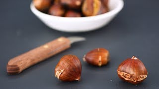 The Trick to Cracking Open A Chestnut- Kitchen Conundrum with Thomas Joseph by Everyday Food