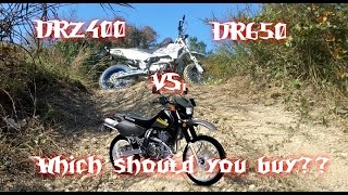 9. DRZ400SM or S vs DR650 Which Should You Buy? 2017 Review