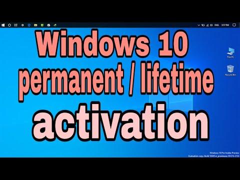 How to activate Windows 10 | Windows 10 lifetime activation | Windows 10 permanent activation