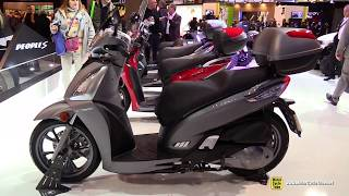 5. 2017 Kymco People GT 300i ABS Scooter - Walkaround - 2016 EICMA Milan