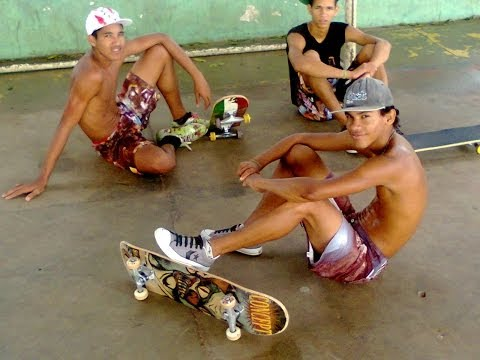 os skatista de Itapebi