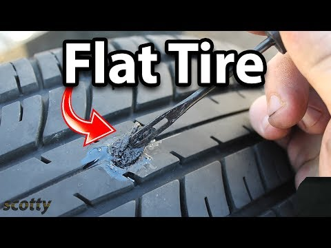 How to Fix a Flat Tire (Tire Plug Kit)