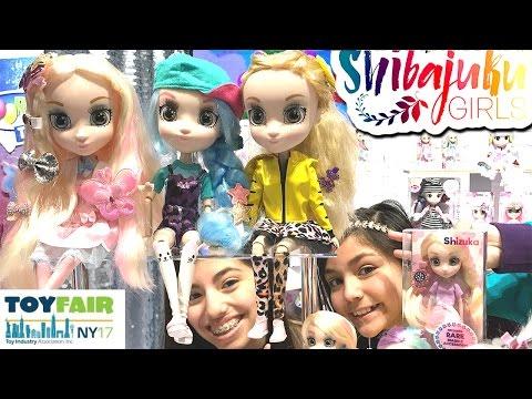 Doll Hunt SHIBAJUKU GIRLS Harajuku Girl style dolls (видео)